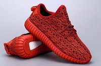 High Quality Sneakers Red Kanye West 350 Boost sneakers 1: 1 ...