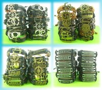 24 Pcs lots Mixed New alloy Bracelets Style Surfer Cuff Ethn...