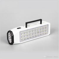 Portable LED lampe de poche Camping Light Mini 38-LED Applique de secours rechargeable haute capacité LED lumière d'urgence