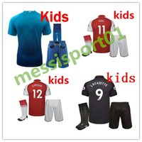 top quality 17 18 home soccer jersey kids boy Kit 2017- 2018...