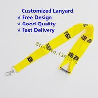 150pcs lot customized lanyard for employee school meeting ex...