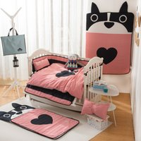 New Arrived Hot 10pcs Set Cartoon Cotton Baby Bedding Set In...