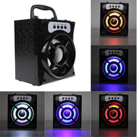 MS-132BT Portable Mini Wireless Bluetooth Speaker FM Radio Potente Subwoofer Outdoor Music Playing Suporte USB TF / Micro SD Card MOQ: 10PCS