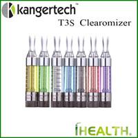 Kangertch T3S Atomizer 3ml Kanger T3S Kolorowe Kartomizer Kanger T3S Clearomizer z wymienną podwójną cewką 100% oryginału