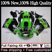 Cuerpo GSXR-600 para SUZUKI Green SRAD GSXR750 GSXR600 96 97 98 99 00 5HM4 GSX R600 GSXR 600 750 1996 1997 1998 1999 2000 Fairing Bodywork