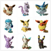 Hot ! 9pcs  Lot Eevee Espeon Flareon Espeon Glaceon Jolteon ...