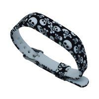 Mais recente Design Personalizado de Impressão A Cores de Substituição de Silicone Macio Banda Clássica Cinta Fivela para Fitbit Flex 2 Wrist Band FC0081