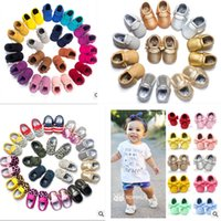 Wholesale- 2016 Brand Suede PU Leather Baby Moccasins shoes ...