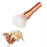 Rose Gold Powder Blush Brush Professional Make-up Borstel Grote Cosmetica Make-up Borstels Foundation Make Up Tool