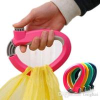 Ein Trip Grip Lebensmittelträgerhalter Griffarretierung Einkaufstasche Arbeitsersparnis Werkzeug H210260