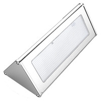 Outdoor Aluminium Alloy Triangle LED Solar Wall Light Garden...