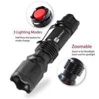 J5 Tactical V1-Pro Taschenlampe 300 Lumen Ultra Bright hochwertige beste Werkzeuge für Wandern, Jagd, Angeln und Camping DHL-freies Verschiffen