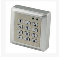 125 Khz 1000 kullanıcı Metal ID Kapı Geçiş Kontrol Sistemi