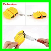 Mini Portable Ceramic Carbide Knife Sharpener Kitchen Blade ...