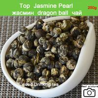 Beförderung!! Grüner Tee 250g Superior-Jasmin-Blumen-Tee Premium-Jasmin Dragon Pearl Tea Health Green Food