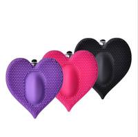 Utrikeshandel för kvinnlig flört, hjärtformad vibrator, kvinnlig klitoris onani massage pinne, fabrik direktförsäljning