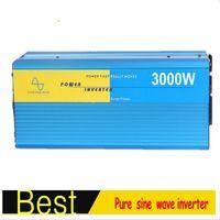 быстрая бесплатная доставка off-сетки однофазный чистая синусоида инвертор 3000W 3кВт инвертор 12В 220В 3000вт invertitore Пуро