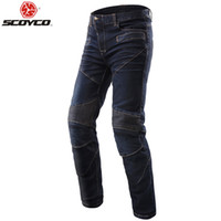 Scoyco P043 protective jeans knee protector Rider pants Moto...