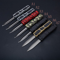 Top Quality 7 Styles Ants AUTO Tactical knife 440C 58HRC Tit...
