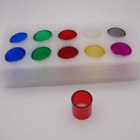 أنبوب بريكس الزجاجي الملون لـ TFV8 Big Baby Stick V8 Kit T Priv 220w SMOK ProColor Kit Q Box G Priv