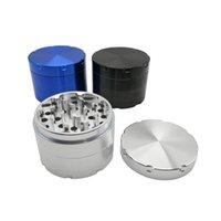 Alta calidad 4 capas Aluninum aleación duradera resistente amoladora amoladora de la hierba con 63mm de fumar tabaco de accesorios