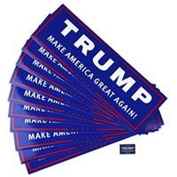 100 stücke Donald Trump für Präsident machen Amerika toll wieder Autoaufkleber neu