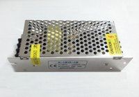 DHL-frei 50pcs / lot 12V 120W 10A DC-Stromversorgung SLIM LED-Treiber Schalen AC-DC-Adapter für LED-Streifen 110V-220V LED-Trafo