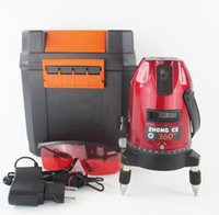 5 lines 6 points laser level, 360 degree rotary cross laser ...