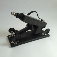 Ametralladora automática del sexo con el pene realista del consolador Velocidad ajustable telescópica Máquinas del amor Masturbator femenino Muebles sexuales