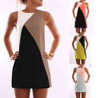 New Summer Sexy Women Sleeveless Party Dress Casual Mini Dre...