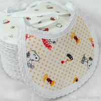 Fashion design baby bandana bibs cotton jersey soft bib made...