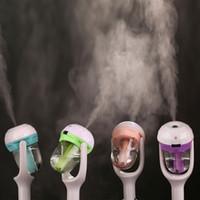 Mini USB Voiture Humidificateurs Aromatherapy Huile Essentielle Arôme Diffuseur Purificateur D'air Fresher Fog Mist Maker Fogger Spray 180 Degrés De Rotation 12V