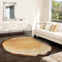 living room decorative items. 100  Polyester Printed Decorative Many Size Floor Rug Mats Round For Living Room Decoration Carpet Creative Rugs Brown Artifical Wooden Carpets Customized Items UK Free Delivery on