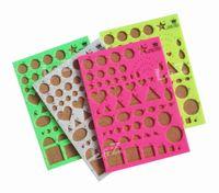 DIY рюш шаблон шаблон доска для бумаги полосы декоративный дизайн-микс цветов 8 шт. / лот LA0137B Оптовая Бесплатная доставка