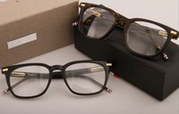 Lunettes de soleil montures cadre de lunettes de planche TB-402 restituant d'anciennes façons oculos de grau hommes et femmes montures de lunettes de myopie