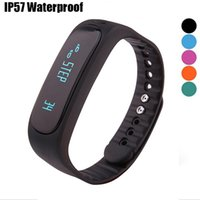 New Smart Bracelet E02 IP57 Waterproof Fitness Sleep Anti- Lo...