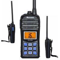 5W / 1W VHF Walkie Talkie RS-35M IP67 Radio marino a prueba de agua Pantalla LCD Transceptor 70ch Dwa Way Radio de jamón