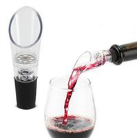 화이트 레드 와인 통풍공 쏟아지는 와인 병 병 마개 병 디 켄터 파우더 에어 와인딩 병 뚜껑 1000pcs