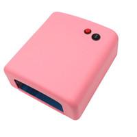Новое прибытие маникюр фототерапия машина УФ лампа 36 Вт лампа фототерапия ногтей гель фототерапия лампа духовка бесплатная доставка