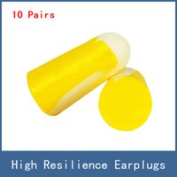 10pairs High Resiliaence Soft Foam Anti- noise Hearing Protec...