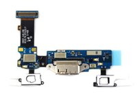 Samung Galaxy S5 için yüksek quatly SM-G900F G900H G900A G900T G900P G900V G900R4 Şarj Portu Dock Bağlantısı Mikro USB Portu Flex Kablo