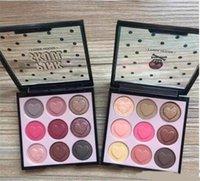 Nouvelles palettes de maquillage Etude House - Palette de fard à paupières couleur yeux de crâne rose 9 couleurs 2 Palettes de fards à paupières modèle DHL A08