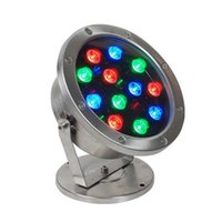 5pcs RGB 12W LED underwater light   pond light   fountain li...