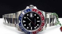 Luxury Mens GMT 18kt White Gold RED Blue Automatic Mechanica...