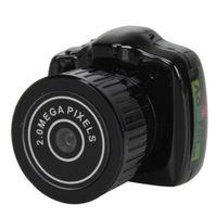 Venda quente! Y2000 ultra pequenas câmeras em miniatura, mini câmera DV ao ar livre nova pequena câmera em miniatura frete grátis