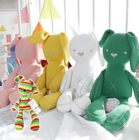 Soft Stuffed Rabbit Dolls Cute Plush Easter Rabbit Bunny Toy...