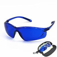 جديد IPL الجمال نظارات واقية حمراء ليزر hoton ضوء اللون نظارات السلامة 200-2000nm واسعة الطيف من الامتصاص المستمر