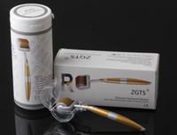 ZGTS 마이크로 바늘 더마 롤러 스킨 케어 티타늄 mesoroller