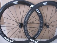 FFWD F5R Branco Black RIM 50mm Avançado Fast Forma Full Carbon Road Rode Bike Wheels Wheels com luz A291 Hubs 3K 700c