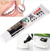 Newest Best toothpaste charcoal black toothpaste bamboo char...